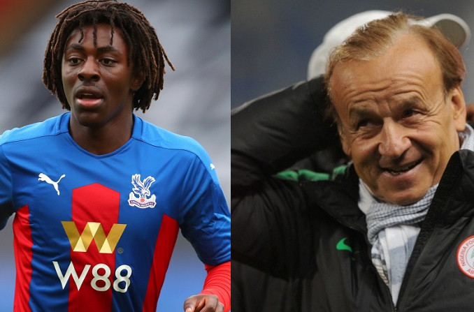 """""""I sent him a message and he replied he will think about it"""" - Super Eagles coach, Gernot Rohr gives update on Nigeria?s pursuit of footballer, Eberechi Eze"""