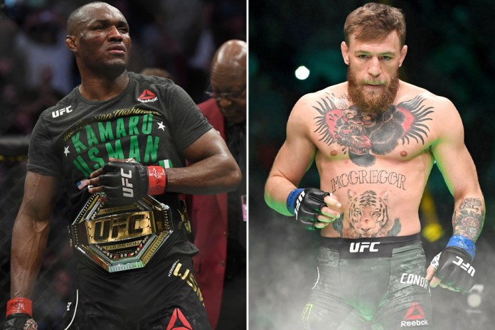 Conor McGregor and Kamaru Usman slam each other on social media after the Irish UFC star accused him?of ?copying