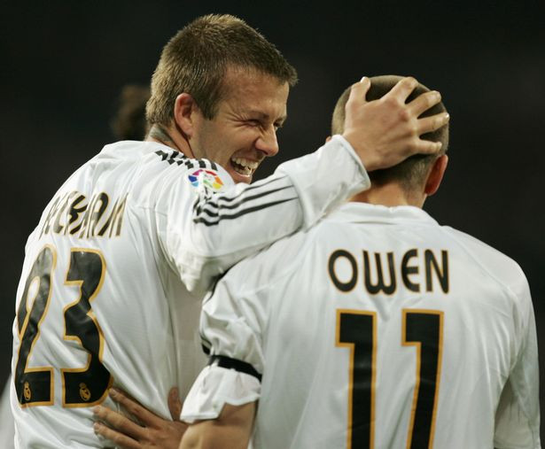 Michael Owen reveals why he refused socialising with David Beckham while they both played in Real Madrid