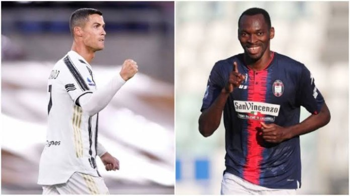 Super Eagles striker Simy Nwankwo reveals how Cristiano Ronaldo snubbed him when he attempted to exchange jerseys with him