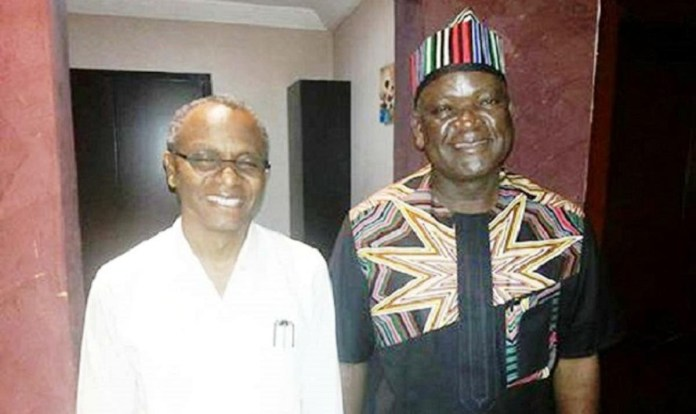El-Rufai is a sycophant, ethnic champion and religious bigot who hates anyone who does not share the same faith with him - Ortom fires back