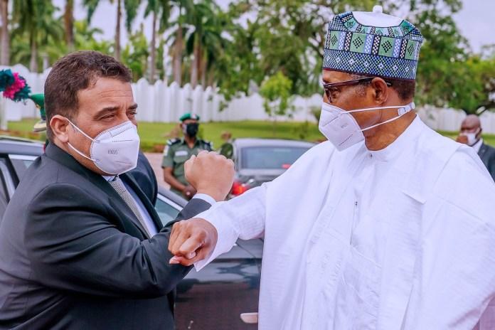 President Buhari hosts Libyan Prime Minister (photos)
