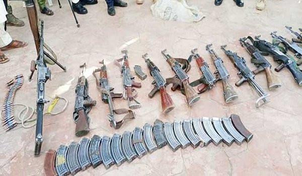 Repentant bandits surrender 203 firearm to Zamfara Govt