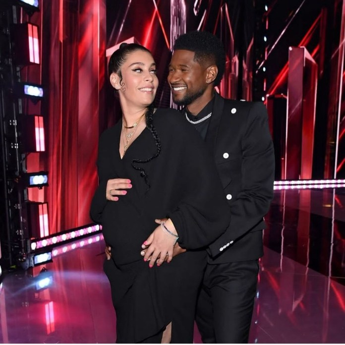 Usher and girlfriend announce they are expecting second child together