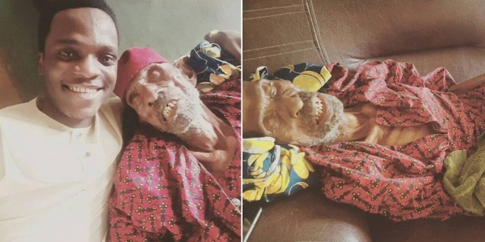Man Shows Off His 145-Years Old Grandfather (photos)