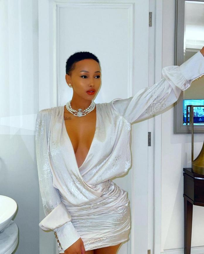 Reality TV star, Huddah Monroe, disagrees with quote which says men stay where they are loved not where they are s3xed