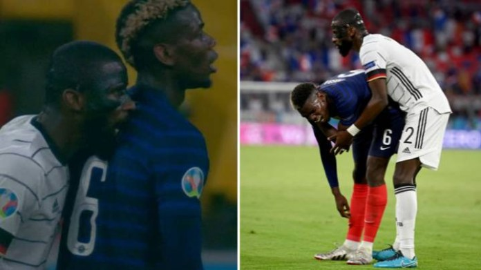 Antonio Rudiger speaks out after biting Paul Pogba during Germany?s Euro 2020 defeat vs France