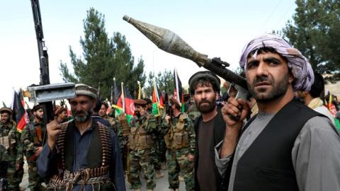 All foreign troops must leave by Sept 11 deadline - Taliban warns US and NATO forces after capturing almost 100 provinces