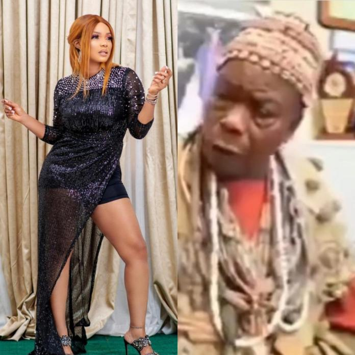 """Iyabo Ojo speaks as elderly man grants interview calling her a prostitute and saying she will """"suffer and die"""" for """"tarnishing"""" Baba Ijesha"""