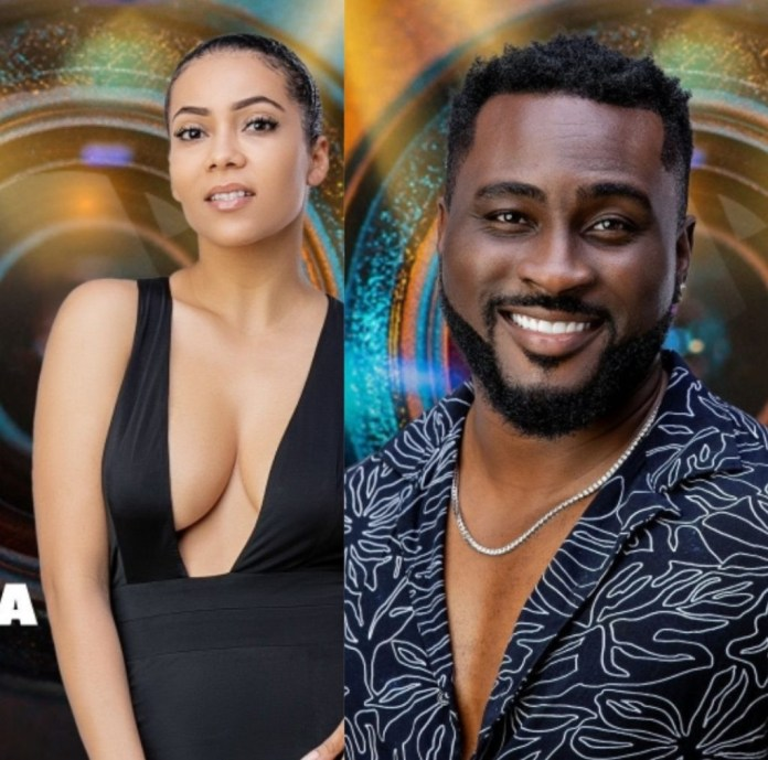 #BBNaija: Try not to get a slap from me - Maria tells Pere as he tells her she