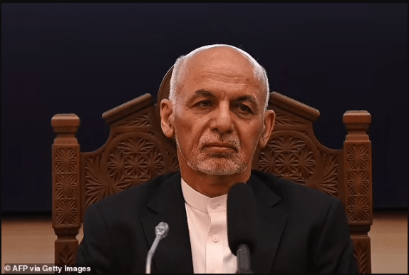 Afghan President fled with 9million in his helicopter and has been given asylum in Dubai