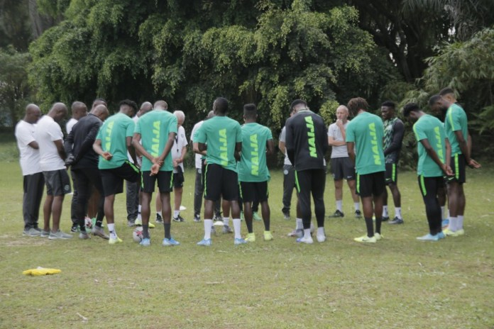 2022 W/Cup Qualifiers: 11 Super Eagles players now in Camp