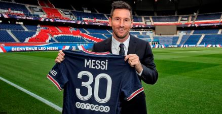 Messi PSG 1
