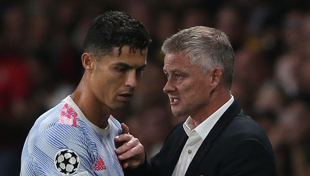 Ole Gunnar Solskjaer has explained his three reasons for taking off Cristiano Ronaldo