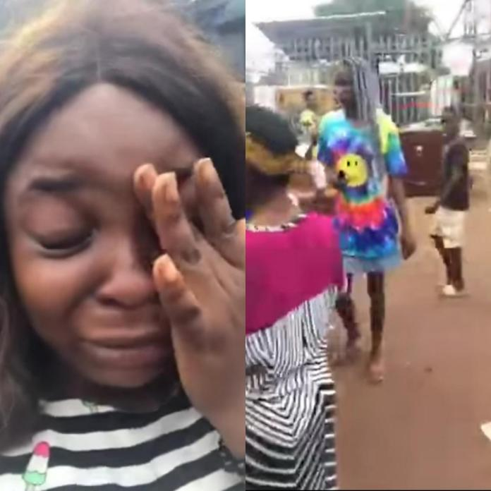 Woman in tears as her uncle allegedly throws her, her widowed mother, and her siblings out of their father