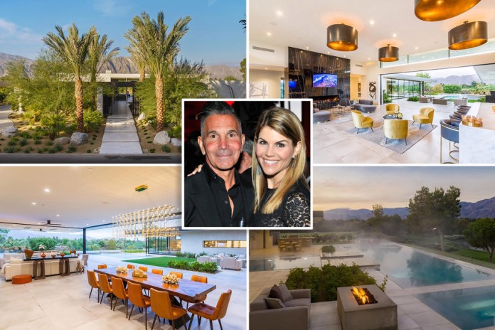 Lori Loughlin buys M Palm Desert vacation home after being released from prison