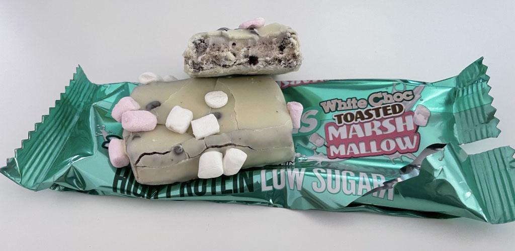 Battle Bites Marshmallow Protein Bar.