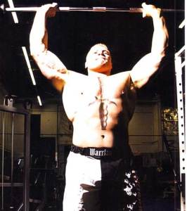 brock lesnar workout