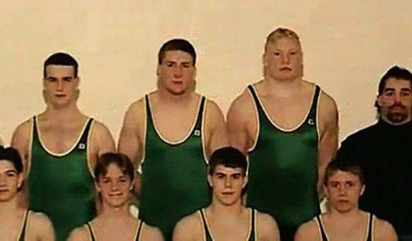 brock lesnar 16 years old