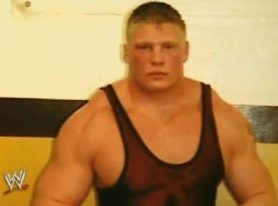 brock lesnar young jacked