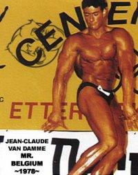 van damme bodybuilding competition