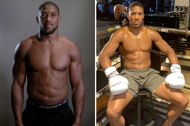 anthony joshua before after