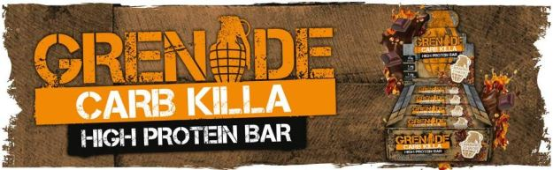 Grenade Carb Killa Bars Review-Are They The Best Tasting Protein