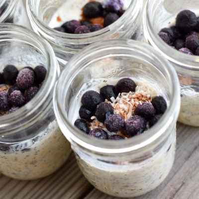 Chia Seed Overnight Oats