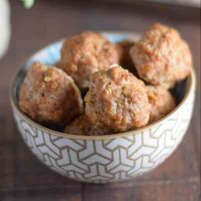 Spicy Turkey Quinoa Meatballs