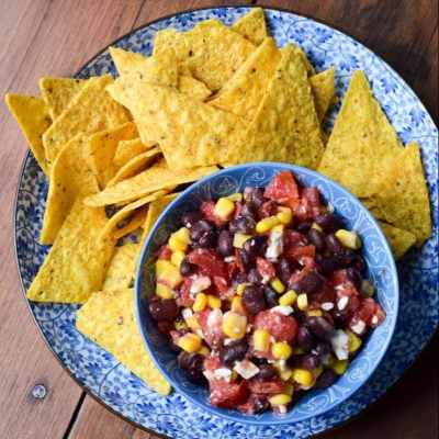 Fiesta Lime Black Bean Salsa