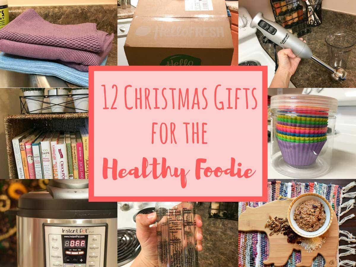 Christmas Gift Ideas for the Healthy Foodie