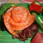 Salmon sashimi (Photo credit: Wikipedia)