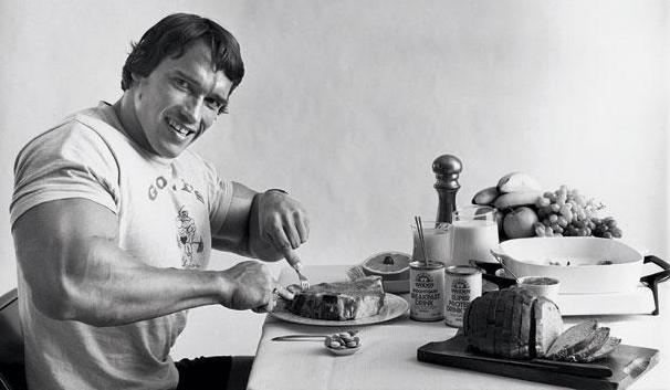 Arnold Bodybuilding Diet