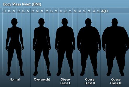 30 BMI chart