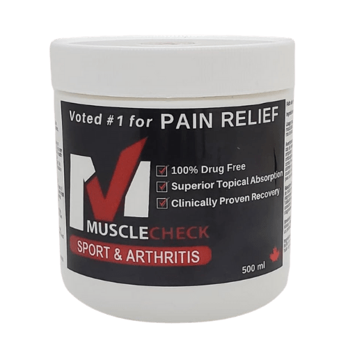 500 ml Jar of Muscle Check