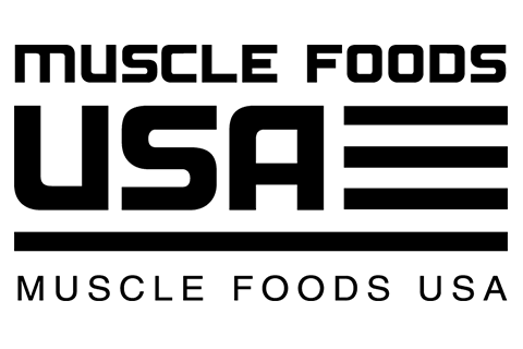 muscle foods usa logo black