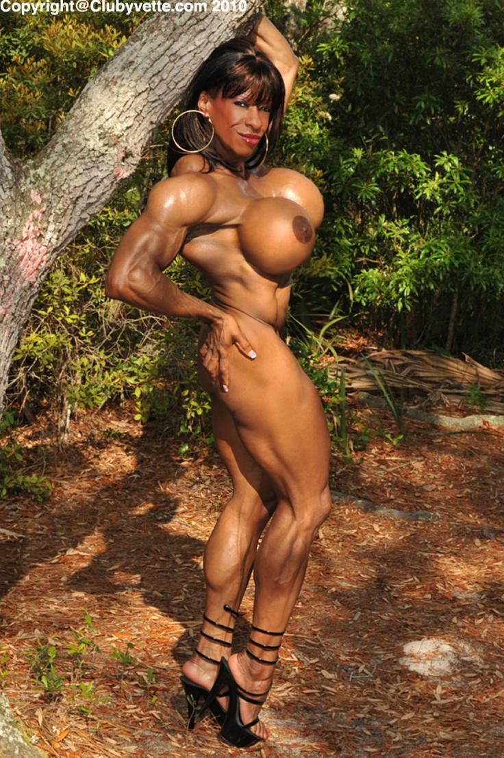 Muscle females nude
