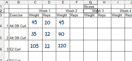 Workout Log