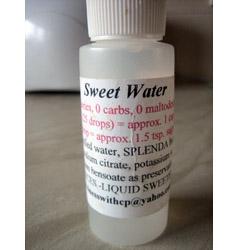 Mark\'s bottle of Liquid Splenda