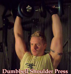 Standing Dumbbell Shoulder Press – Video