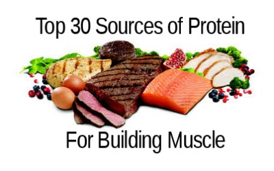 Top 30 Foods That Build Muscle