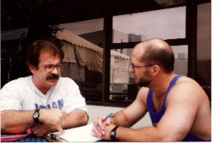 Dave Durell with the late Mike Mentzer