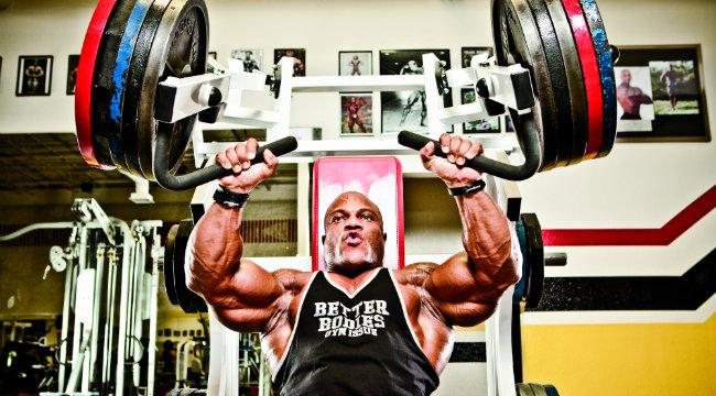 phil heath training