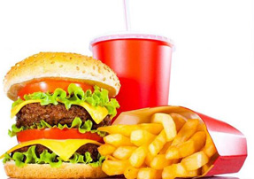When you see this, do you see something pleasurable? Or do you see the cause of being fat, unhealthy, and unhappy?