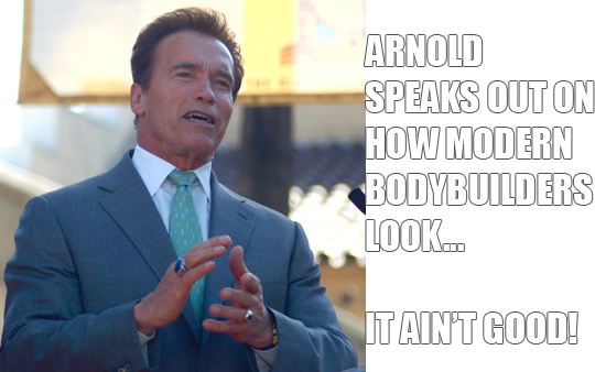 Arnold Schwarzenegger Doesn't Like How Modern Bodybuilders Look