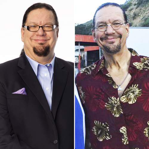 Penn Jillette Loses A Shed Load Of…Muscle