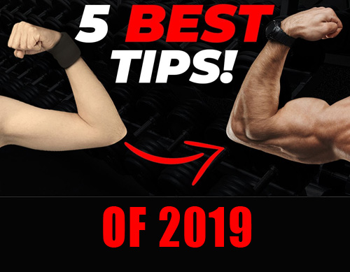 THE 5 BEST MUSCLE GAIN TIPS OF 2019