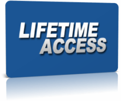 75% Commission For Fitness Professional Product  Image of lifetimeaccess card