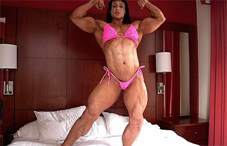 american muscle goddess
