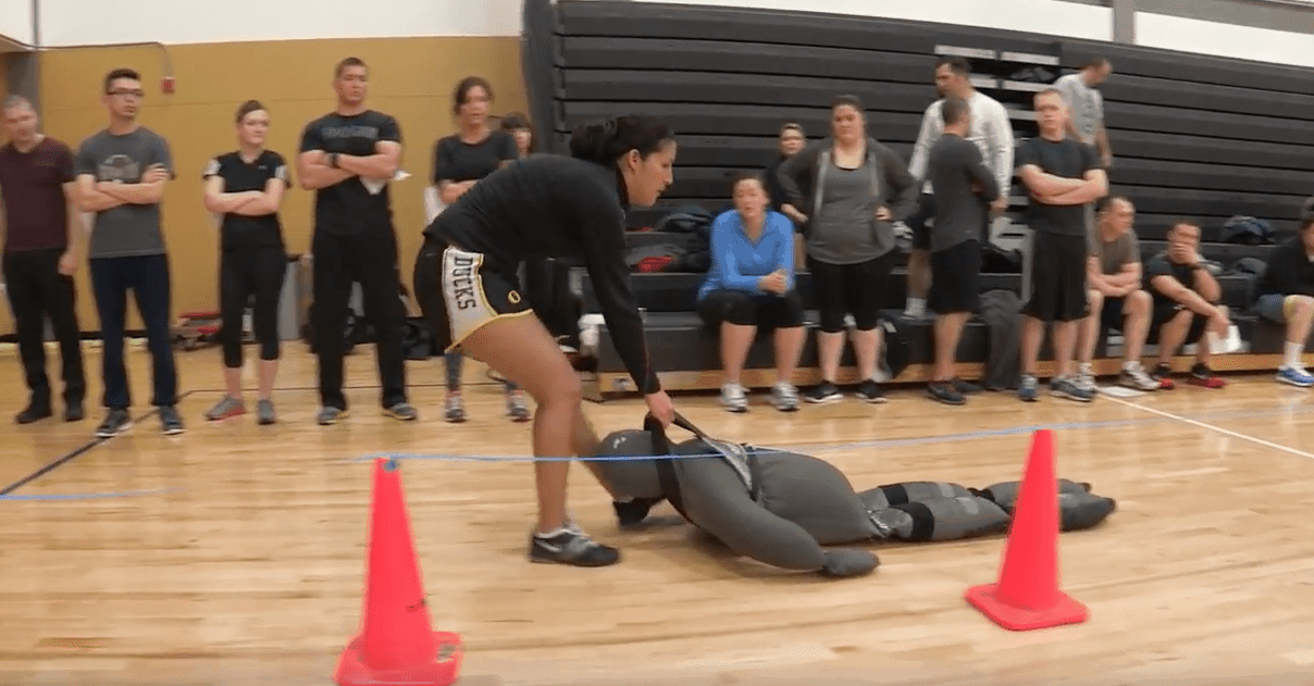 police physical test